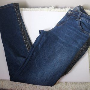 Kut from the Kloth Skinny Jean with Braided Detail